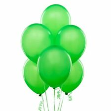 100 Light Green Plain Latex Helium Balloons Balons Birthday Wedding Celebrations