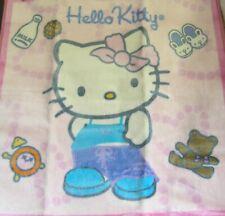"Hello Kitty Area Rug Home Collection 30"" X 30"" NIP Slumber Party Design 2005"