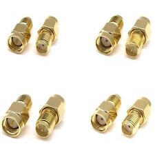 RP-SMA To SMA Male Female Straight RF Adapter Coaxial Connector Converter Plug