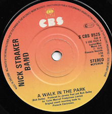 NICK STRAKER BAND - A WALK IN THE PARK / SOMETHING IN THE MUSIC - 70s NEW WAVE