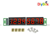 10PCS MAX7219 Digital Tube 8-Digit Display Control Module Red For Arduino