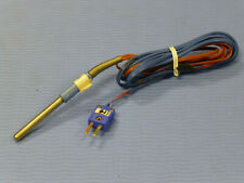 Omega T Type Thermocouple Temperature Probe With Connector 2 Long