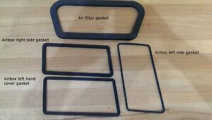 Suzuki GT750 MAB  self adhesive set of 4 airbox gaskets