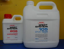 West System Epoxy Resin Kit (H206 Slow Hardener - 4.8Ltr Kit