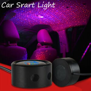 Car Roof  Projector Ceiling Laser Star Night Light Atmosphere Red and Blue
