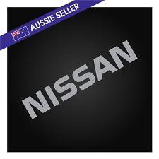 SILVER NISSAN Sticker Decal for R31 Skyline HR31 GTS GTSX RB20 RB20DET
