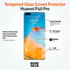 For Huawei Phones Ultra HD Clear Shatterproof 9H Tempered Glass Screen Protector