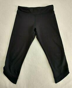 Old Navy Active Leggings Girls Go Dry Black, Size XL / 14