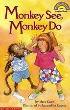 Schol Rdr Lvl 1: Monkey See, Monkey Do (Hello Reader)
