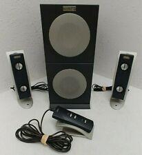 Altec Lansing 2100 Computer Speaker System Read Description - WORKS