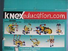 K'Nex Stem Education Gears 7 Simple Machines Car Window Blender Phonograph +
