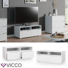 Vicco Lowboard Ruben weiß 100cm TV-Board Fernsehschrank TV-Schrank Regal Tisch