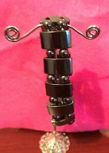 hematite magnetic elastic bracelet