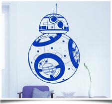 Star Wars BB-8 Wall Sticker Robot DIY 3D Vinyl Wall Decal Geek Mural Wallpaper