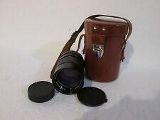 Vivitar Auto Telephoto 135mm 1:2.8 Lens w/ Caps & Case