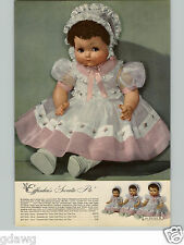 1944 PAPER AD 4 Pg Doll Effanbee Sweetie Pie Tousle Tot Negligee Marquisette