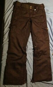Volcom Women's Jacobsen Insulated Snowboard Pants Ski size S Small