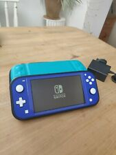 Nintendo Switch Lite blue 2021 model hardly used excellent condition