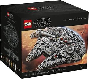 LEGO 75192 Star Wars Ultimate Millennium Falcon Building Kit 7541 Piece SEALED✅✅