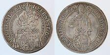 MAGMA RDR Salzburg,Johann Ernst Thun, TALER 1695  vzgl, kl.schr.f.