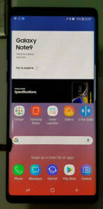 Samsung Galaxy Note 9 SM-N960 OEM Cracked LCD Touch Digitizer Screen Display