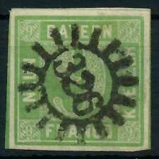 BAYERN QUADRATE Nr 5aIII gMR 260 zentrisch gestempelt gepr. X881FC6