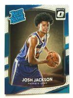 2017-18 Panini Optic Josh Jackson RC #197, Suns Star Rookie!