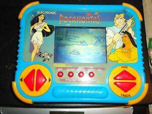 Disney Pocahontas Handheld Tiger Electronics 1994 Electronic Game Works TESTED!