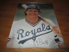 1981 Feelin' 7up GEORGE BRETT Kansas City Royals SUPER STAR Poster