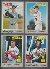 2019 Topps Heritage Short Prints SP 401-500,701-725 You Pick Complete your Set