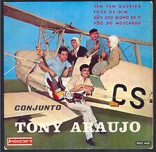 Rare 45T EP Pochette AVION BIPLAN / BI PLANE / TONY ARAUJO CONJUNTO