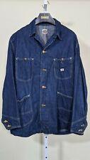 Lee Denim Vintage 60s 91-J Union Made Usa Chore Jacket