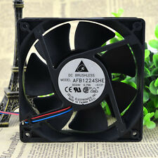 DELTA AFB1224SHE Cooling Fan DC 24V 0.75A 120mm x 120mm x 38mm