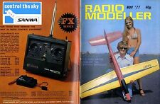 RADIO MODELLER MAGAZINE 1977 NOV HARMATTAN PLAN FEATURE, ROBBE WEGA TEST REPORT