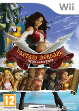 Captain Morgane and the Golden Turtle (Nintendo Wii) - Brand New not in wrap