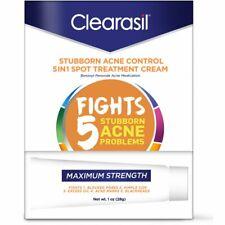 Clearasil Acne Treatment Cream Vanishing Maximum Strength Formula 1oz, Exp. 5/20