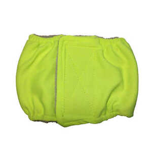 Male Dog Diaper - Made in USA - Neon Green Washable Dog Belly Band Male Wrap ...