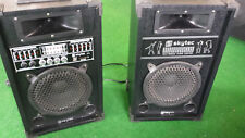 Active PA Loud Speaker ­ ­ ing System Box Set USB SD mp3 Player 200 Watts RMS F. Microphone