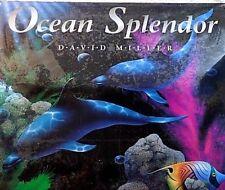 "NOS 1998 Calendar DAVID MILLER ART~Ocean Splendor~Sealife prints~SEALED~12""x 12"""