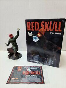 Red Skull | Resin Statue | Diamond Select | COA |7500 Piece Count | Marvel 2001