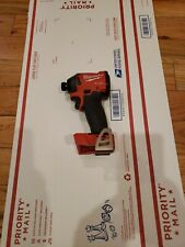 Milwaukee M18 1/4 hex fuel brushless Cordless Impact Driver - 2853-20 tool bare