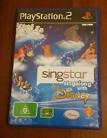 playstation 2, singstar, sing along with disney