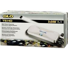 T5 HO GLO Twin Double Starter Fish Tank Electronic Controller Light Unit - Hagen