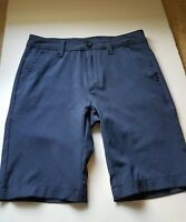 Nautica Youth Boy's Navy Blue Knee Shorts Uniform Dress Cotton Size 10