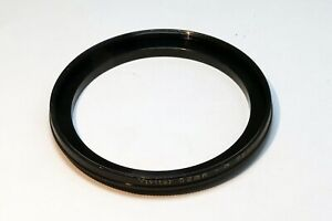 Vivitar 52mm to 58mm Step-up ring Metal adapter double threaded for lens filter