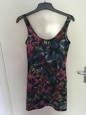 Zara Stretch, Bodycon Floral Sleeveless Dresses for Women