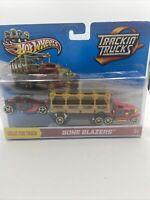 Hot Wheels TRACKIN' TRUCKS ~ BONE BLAZERS Y0178 2012 Rare NIB New MATTEL