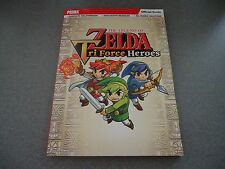 The Legend of Zelda Tri Force Heroes Paperback Strategy Guide  Prima  NEW