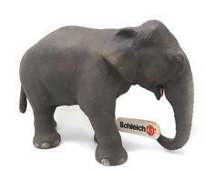 W2) Schleich 14344 Ind. Éléphant Vache Schleichanimaux Schleichanimal