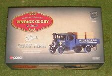 CORGI VINTAGE GLORY OF STEAM 80205 FODEN DROPSIDE WAGON w/ CRATES PICKFORDS